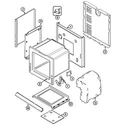 9875XRB Range Body Parts diagram