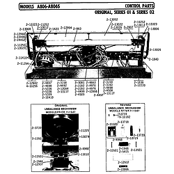 A806 Washer Control Parts diagram