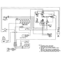 AGR5835QDQ Freestanding Gas Range Wiring information Parts diagram