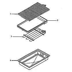 ARDS800E Electric Range Module (cc11ls/all) Parts diagram