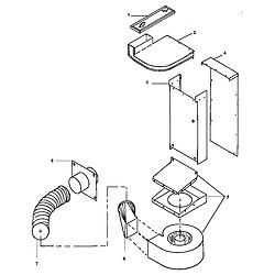 ARDS800E Electric Range Vent (ards800e/p1131920ne) (ards800ww/p1131920nww) (cards800e/p1131922ne) (cards800ww/p1131922nww) Parts diagram