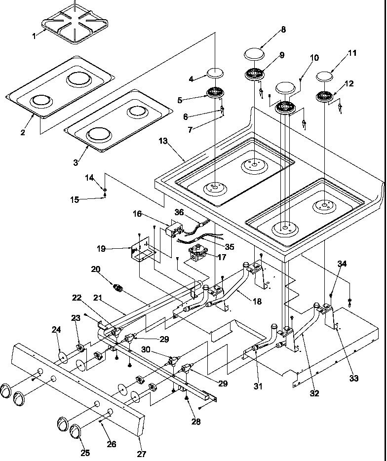 Dacor Stove Wiring Diagram