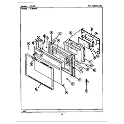 BCRE955 Range Door (bcre955) Parts diagram