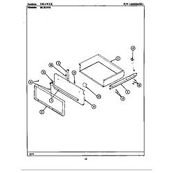 BCRE955 Range Drawer (bcre955) Parts diagram