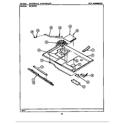 BCRE955 Range Internal controls (bcre955) Parts diagram