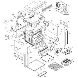 CGEB27S7CB1 Electric Walloven Body Parts diagram