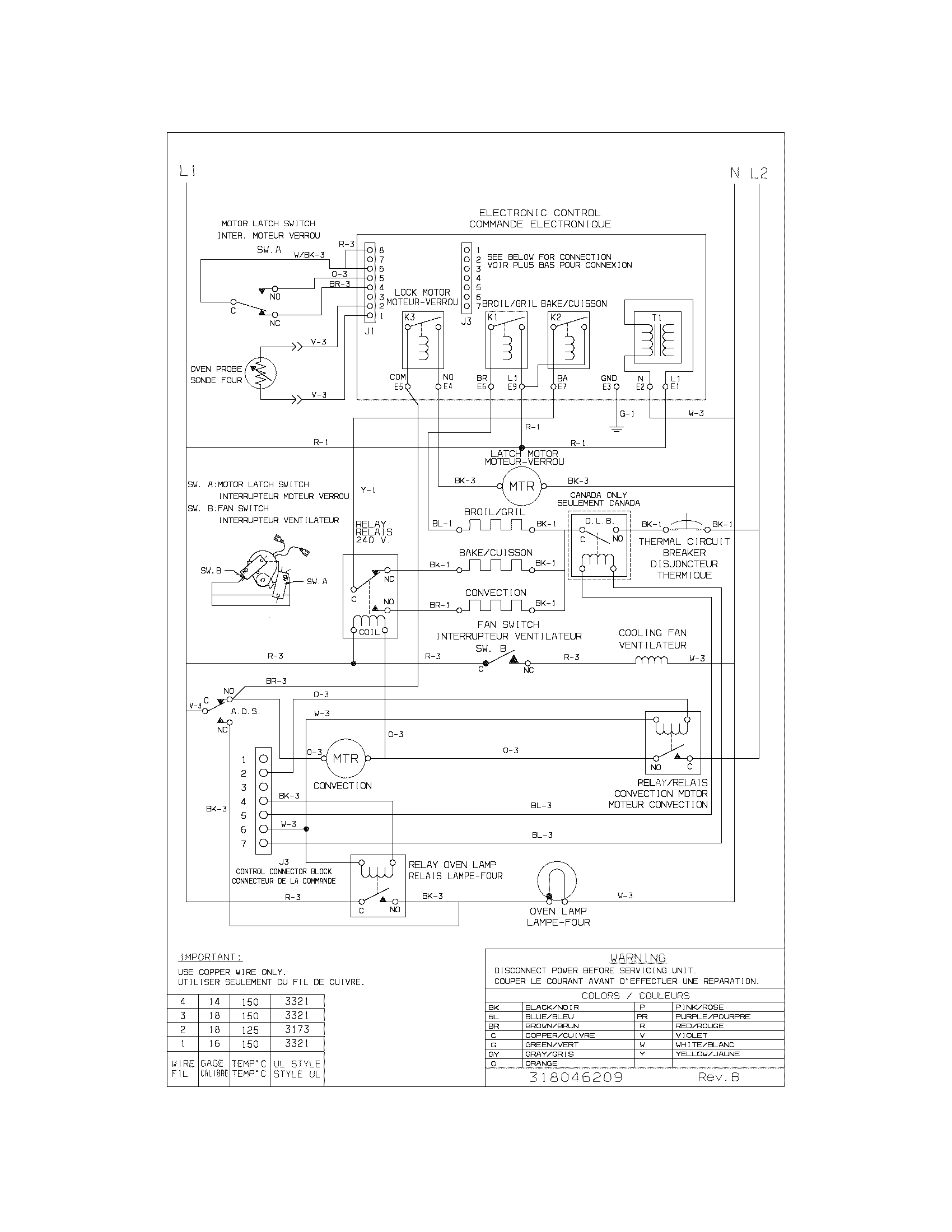 Frigidaire cgeb27s7cb1 electric walloven timer stove clocks and cgeb27s7cb1 electric walloven wiring diagram parts diagram sciox Choice Image