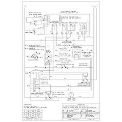 CGEB27S7CS1 Electric Walloven Wiring diagram Parts diagram