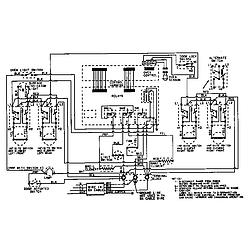 CHE9000BCE Range Wiring information Parts diagram
