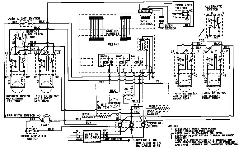ge refrigerator computer wiring diagram wiring diagram for light rh prestonfarmmotors co GE Dishwasher Wiring Diagrams hotpoint electric oven wiring diagram