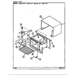 CM47JW14T Microwave Base Parts diagram