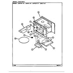CM47JW14T Microwave Turntable Parts diagram