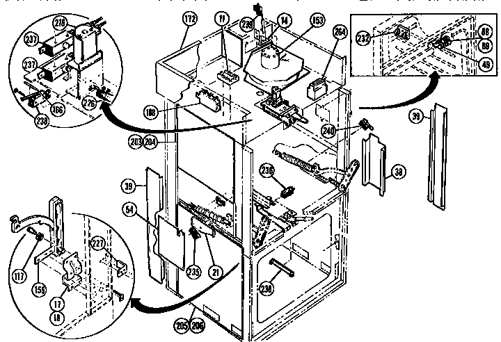 Switches And Additional Parts on Kenmore Dryer Wiring Diagram