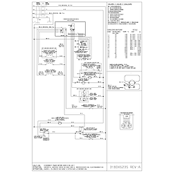 CPEB30S8CC2 Wall Oven Wiring diagram Parts diagram