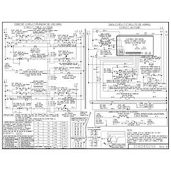 CPES389AC1 Range Wiring diagram Parts diagram