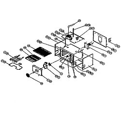 CPS127 Oven Conv oven Parts diagram