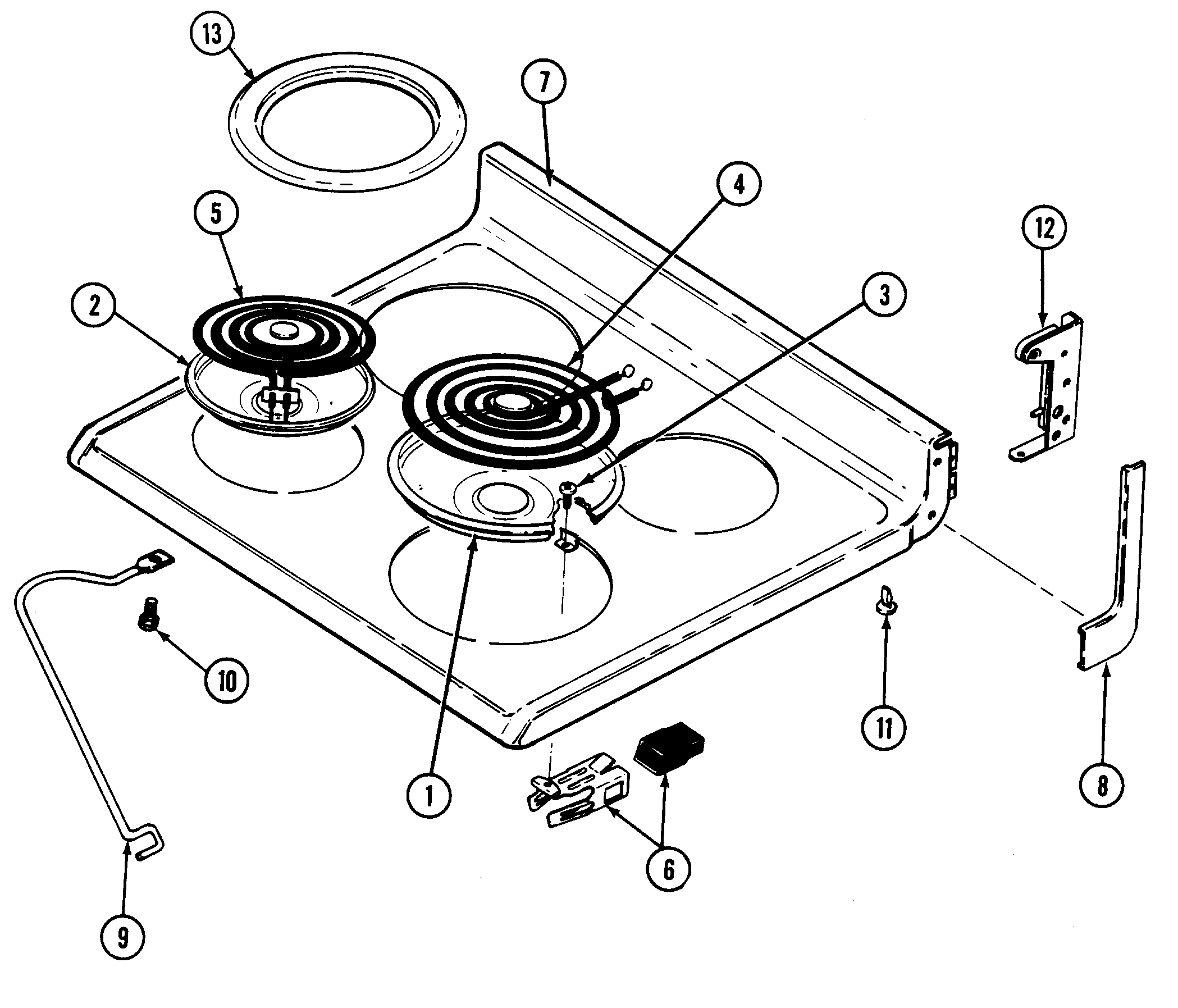 top assembly parts maytag cre9500adw timer stove clocks and appliance timers stove diagram at bayanpartner.co