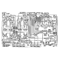 CRE9830CDE Electric Range Wiring information Parts diagram