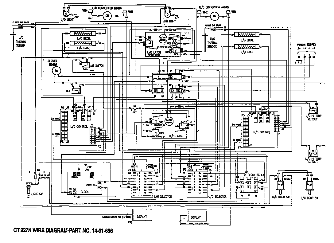 oven wiring diagram oven image wiring diagram oven wire diagram oven home wiring diagrams on oven wiring diagram