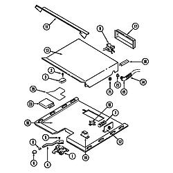CWE9000ACE Range Internal controls (cwe9000bcb) (cwe9000bce) (cwe9000bdb) (cwe9000bde) Parts diagram