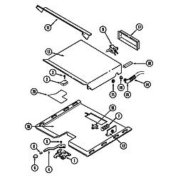 CWE9000ACE Range Internal controls (cwe9000bcm) (cwe9000bcm) Parts diagram
