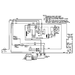CWE9000ACE Range Wiring information (cwe9000bcm) Parts diagram