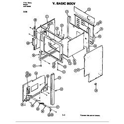 D156 Range Body (d156) Parts diagram
