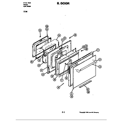 D156 Range Door (d156) Parts diagram
