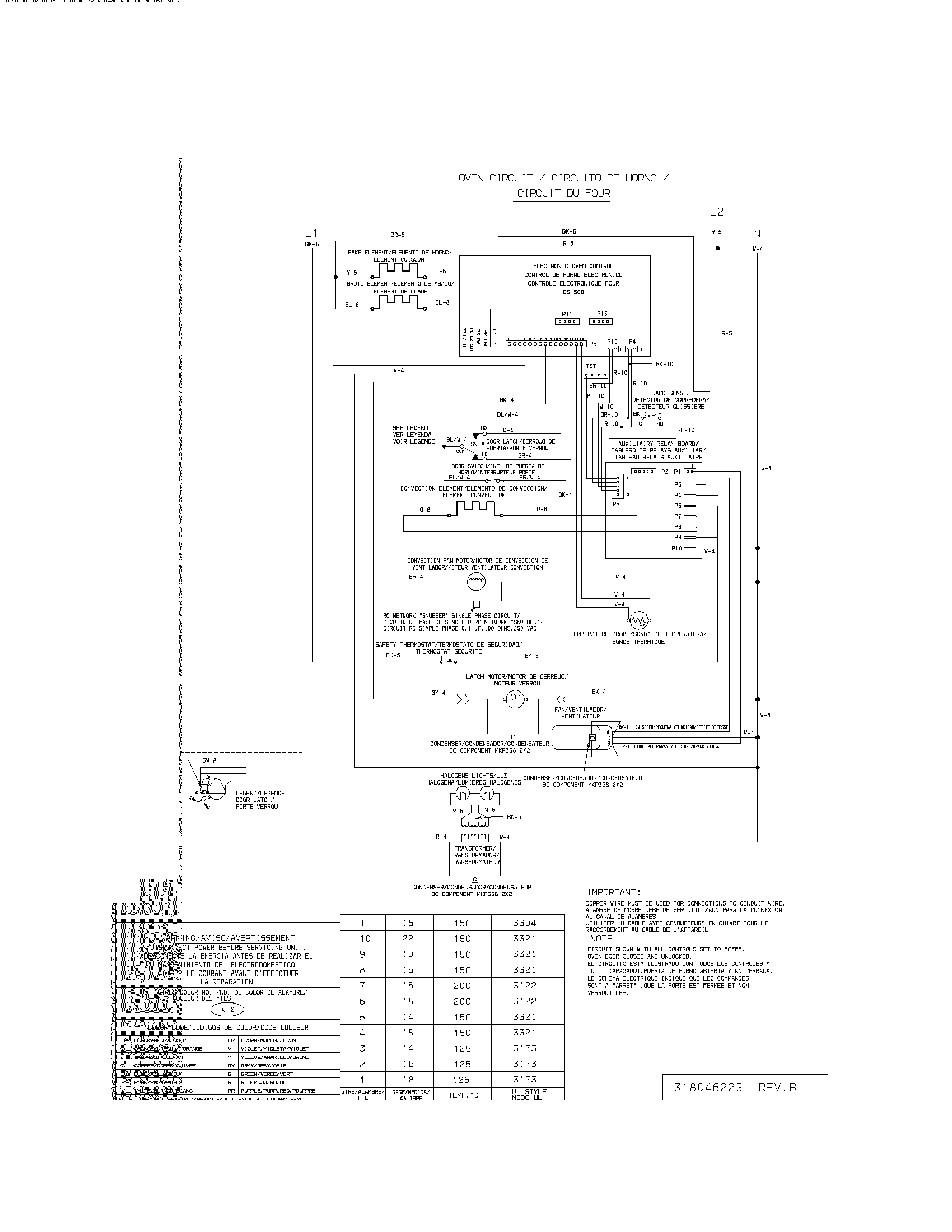 e30ew75dss1 wall oven wiring diagram parts diagram