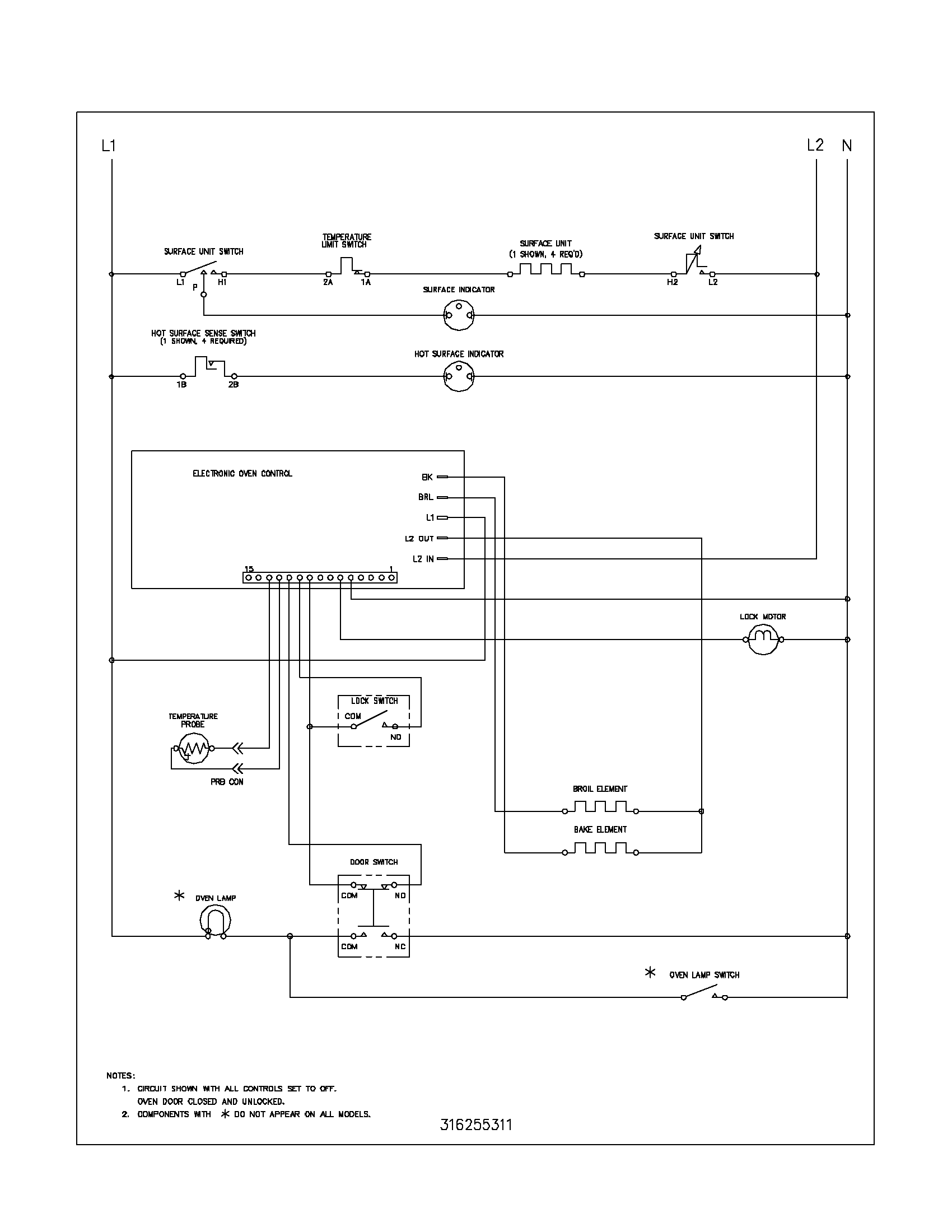 imperial range wiring diagram imperial wiring diagrams frigidaire fef366ccb electric