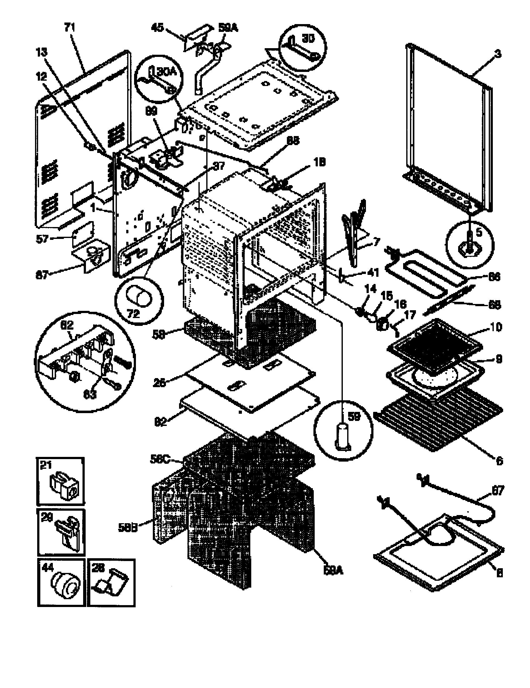 Frigidaire Fef367catb Electric Range Timer Manual Guide