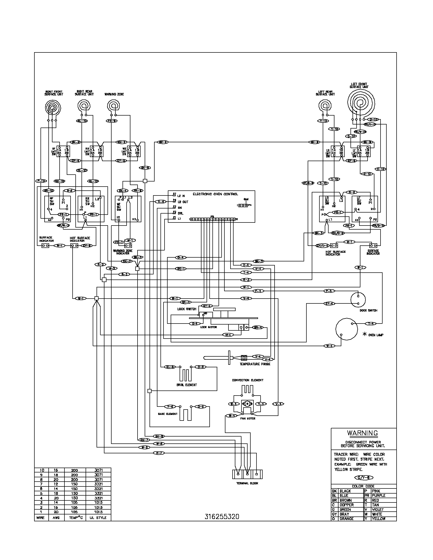 fefl88acc electric range wiring diagram parts diagram