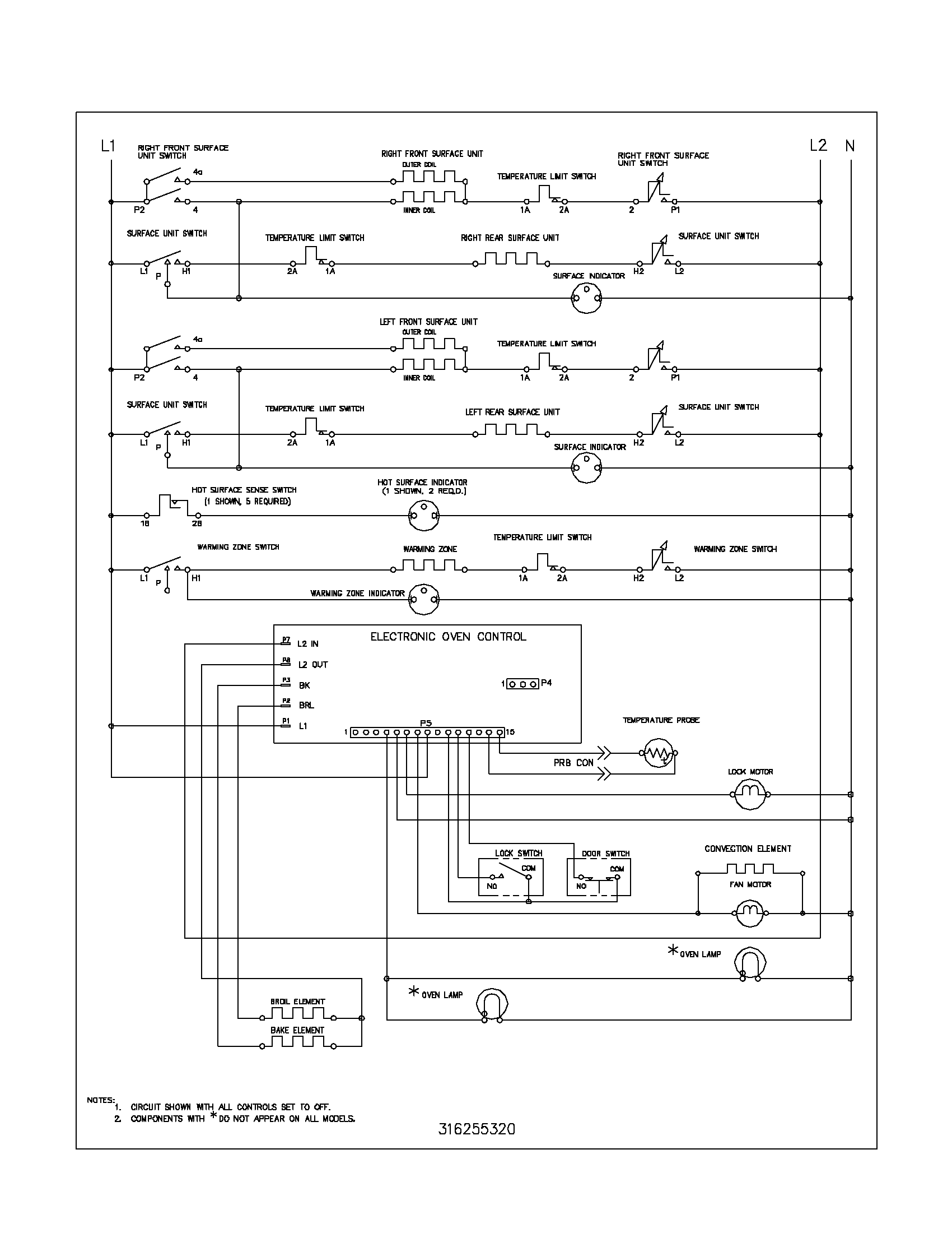 wiring schematic parts whirlpool fefl88acc electric range timer stove clocks and whirlpool refrigerator wiring schematic at n-0.co