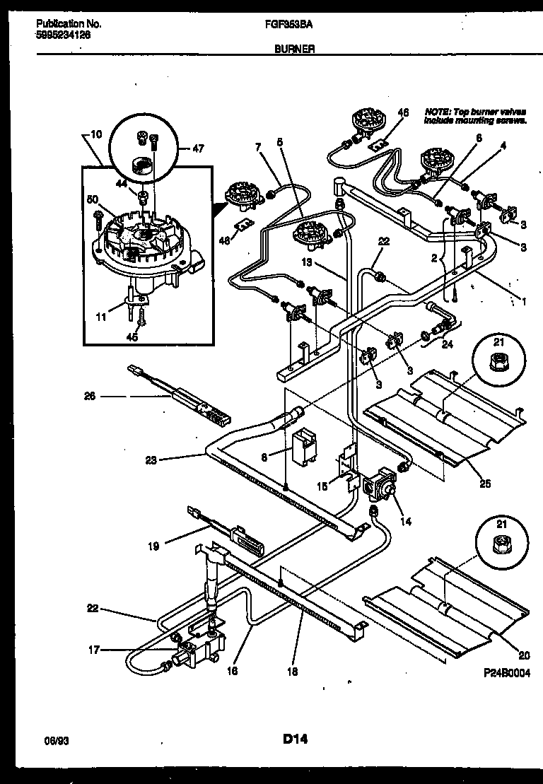 Frigidaire Gas Range Wiring Diagram - Auto Electrical Wiring Diagram •