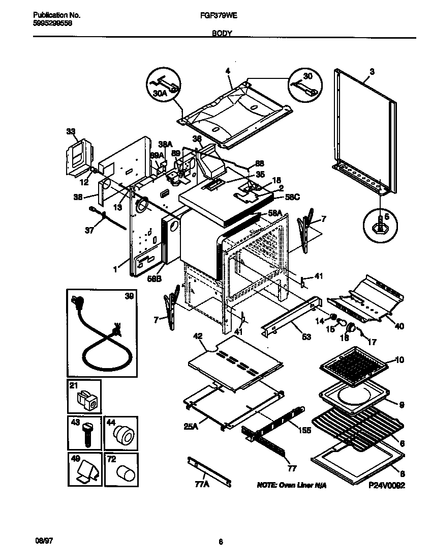frigidaire stove parts diagram electrical drawing wiring diagram u2022 rh g news co frigidaire stove parts manual Frigidaire Gas Oven Manual