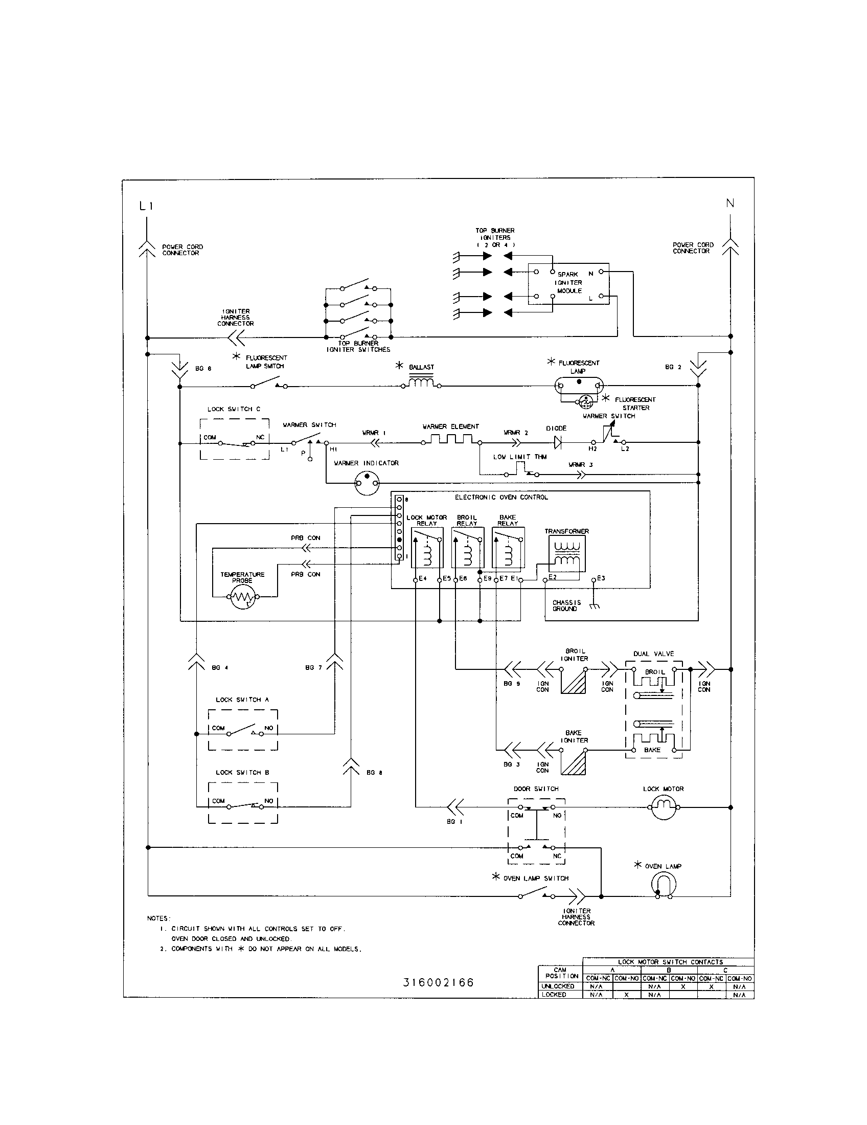 Frigidaire Range Wiring Diagram Smart Diagrams Stove Fgf379wecs Timer Clocks And Top Electric