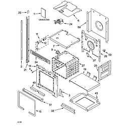GBD277PDB10 Built In Double Oven - Electric Oven Parts diagram