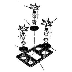 Thermador Gsc30cvb Gas Range Timer Stove Clocks And