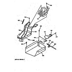 JGSP40AET1AA Gas Slide-In Range Lock Parts diagram