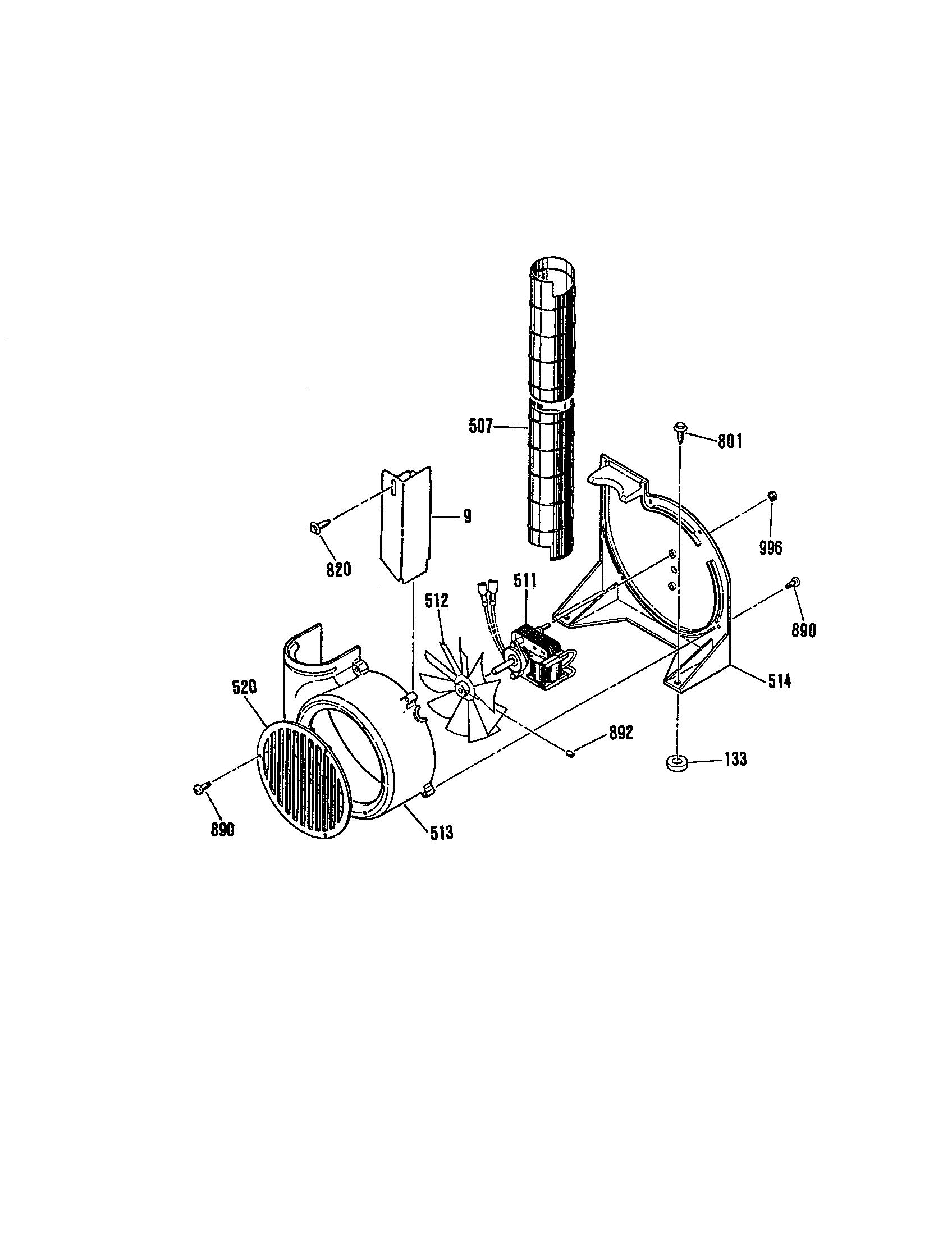 general electric jsp28gp range timer stove clocks and appliance jsp28gp range fan blower housing parts diagram