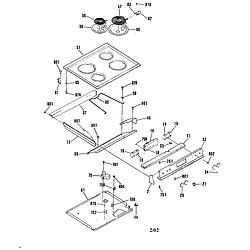 general electric jsp28gp range timer stove clocks and appliance jsp28gp range maintop parts diagram