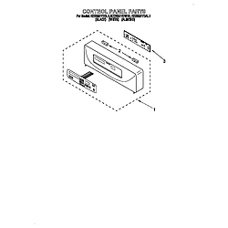 KEBS277DWH1 Built-In Electric Oven Control Parts diagram