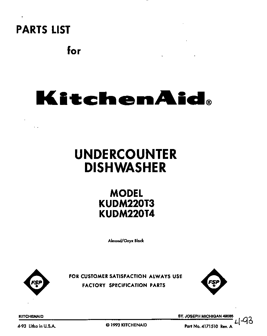 front cover parts kitchenaid kudm220t4 timer stove clocks and appliance timers kitchenaid dishwasher wiring diagram at edmiracle.co