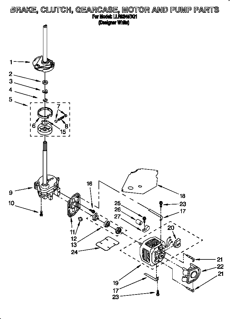 ke-clutch-gearcase-motor-and-pump-parts Kenmore Dryer Wiring Diagram on