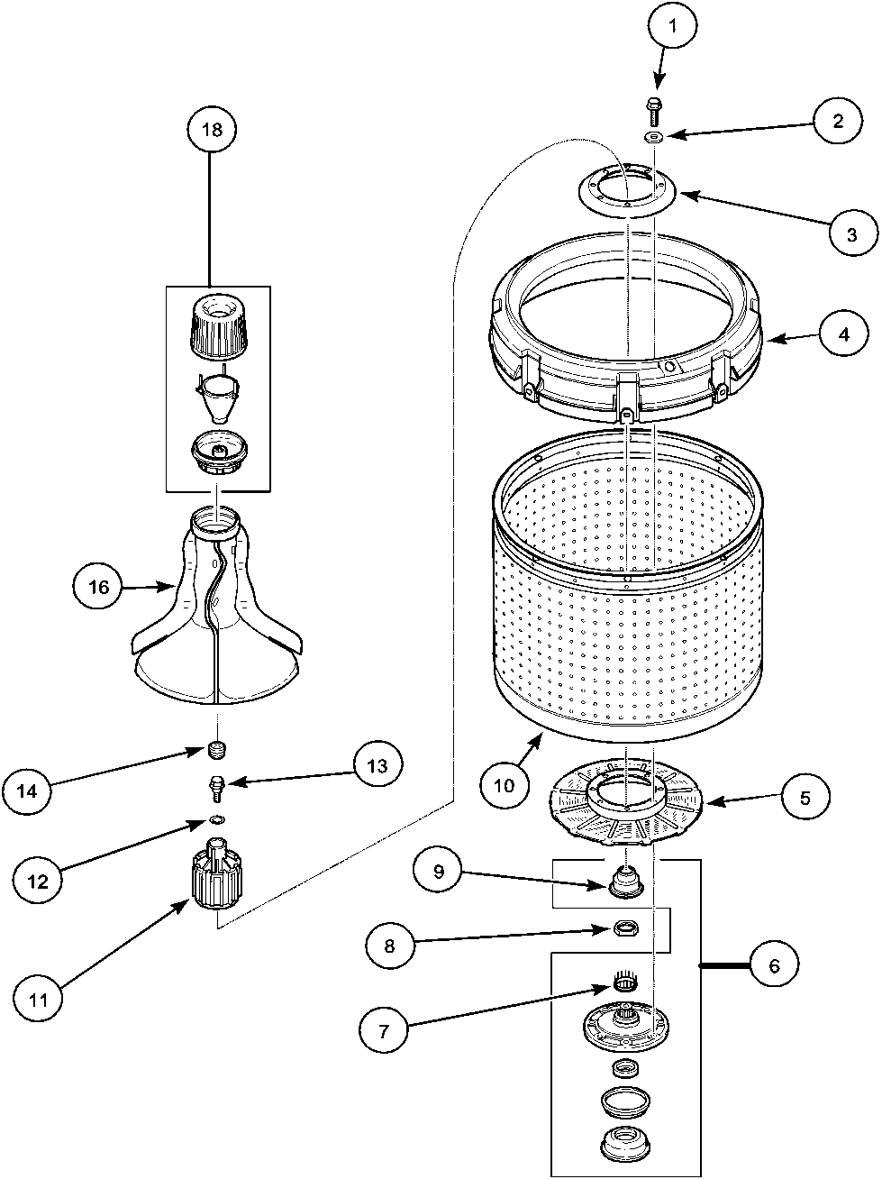 Index on whirlpool washer electrical wiring diagram