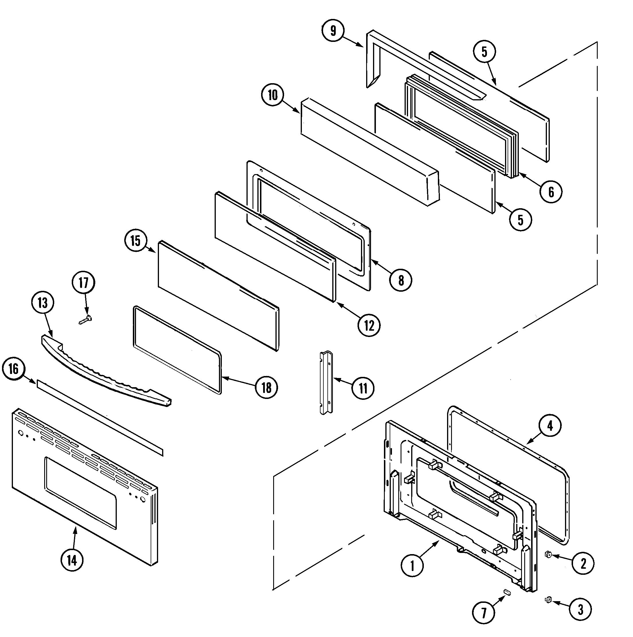 Door Upper Bac Bas Parts on York Timer Wiring