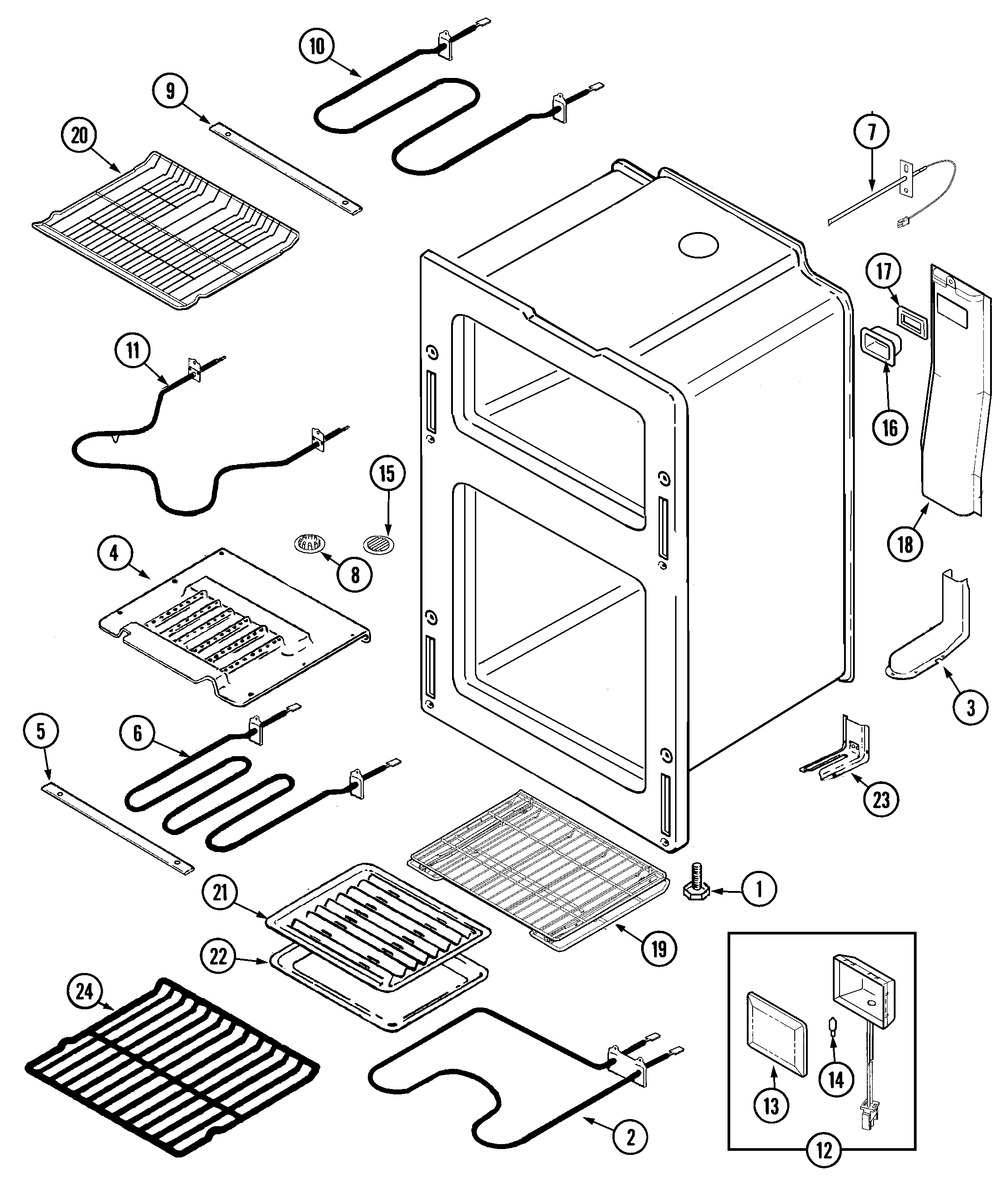 Maytag Mer6772bcw Range Timer Stove Clocks And Appliance Timers Computer Parts Diagram Oven