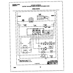 MGF354CGSC Gas Range Wiring diagram Parts diagram