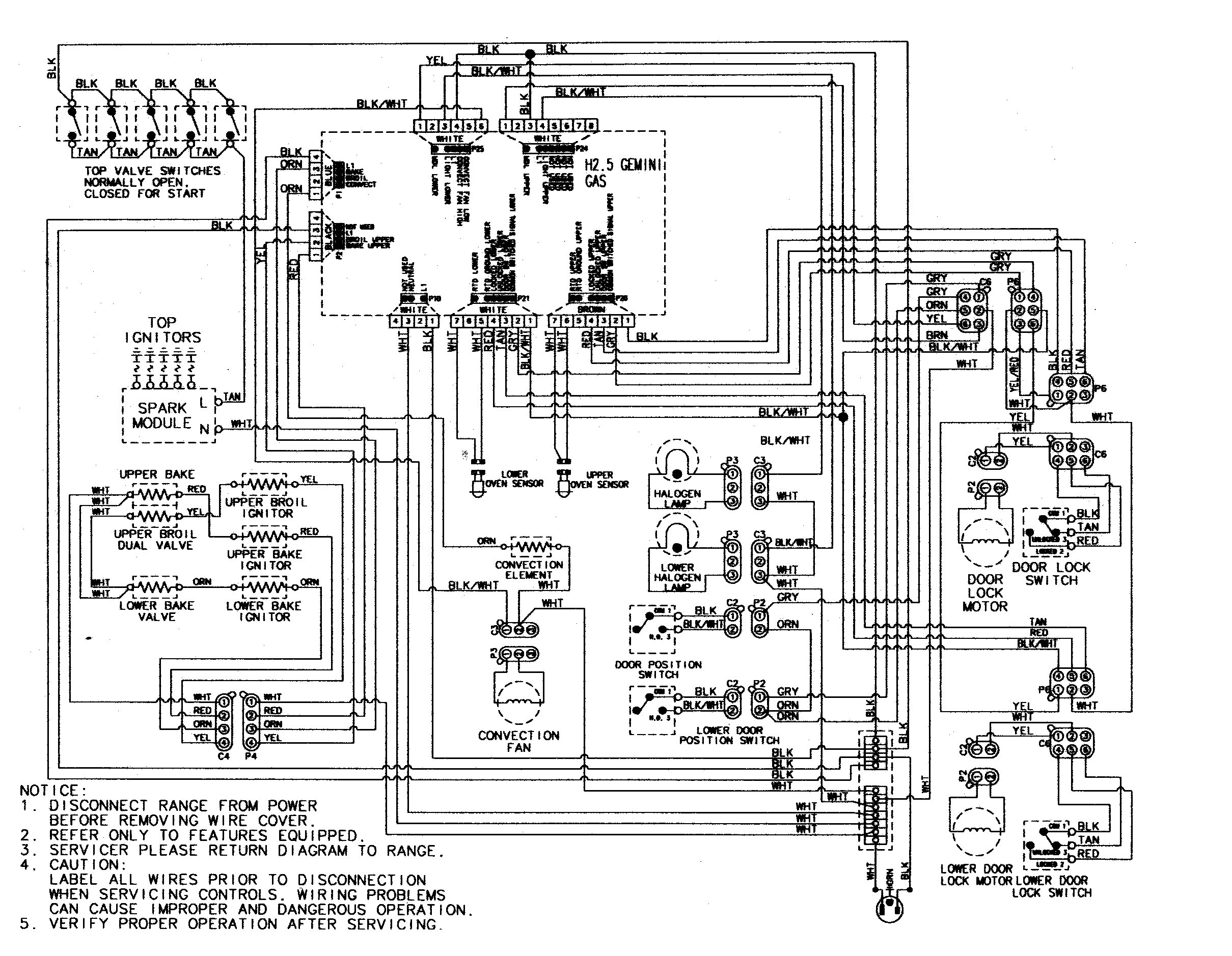 Wiring Diagram Fan Control Center Enthusiast Diagrams Honeywell Maytag Mgr6875adb Gemini 30 Quot Double Oven Freestanding Gas Range Timer Stove Clocks And Relay