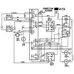 PAV2000AWW Washer Wiring information Parts diagram